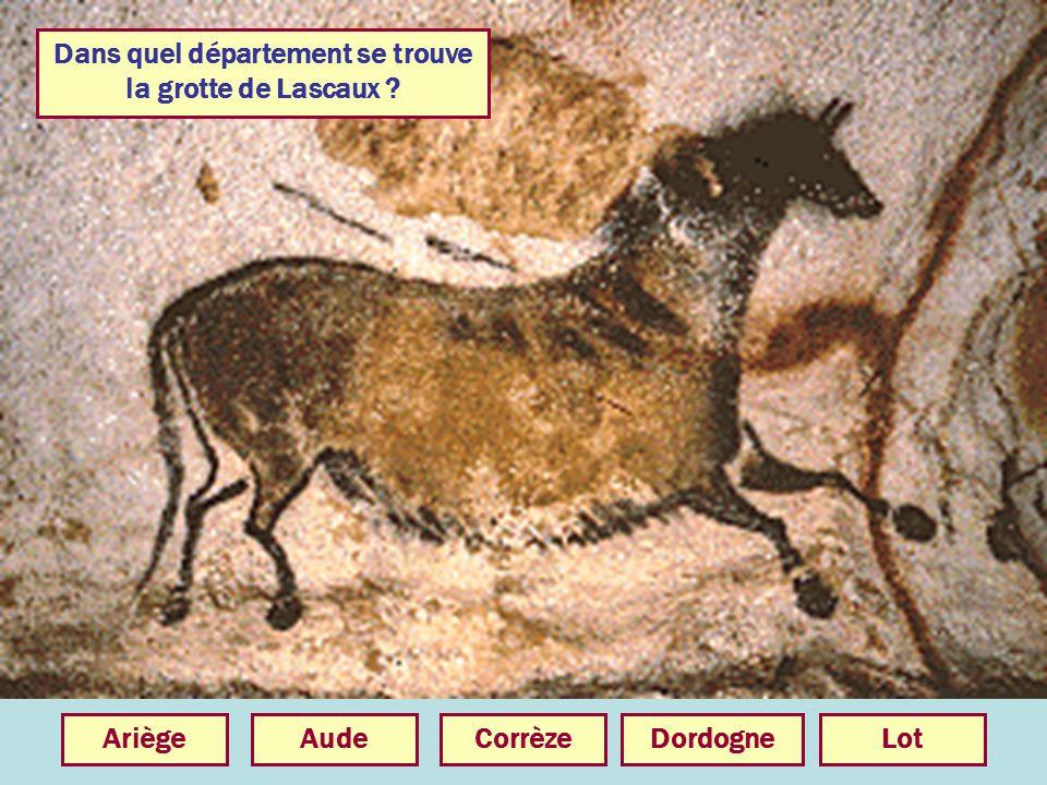 Dans quel département se trouve la grotte de Lascaux