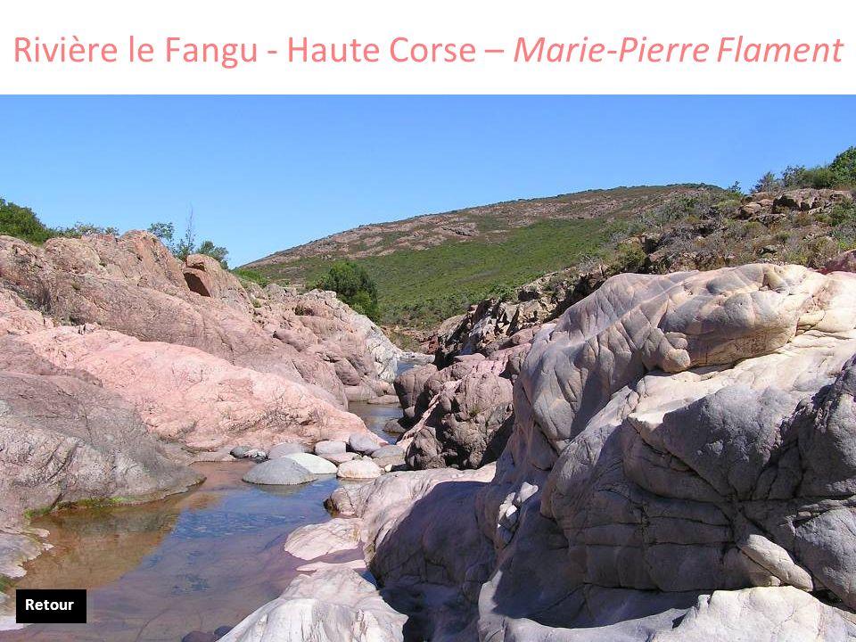 Rivière le Fangu - Haute Corse – Marie-Pierre Flament