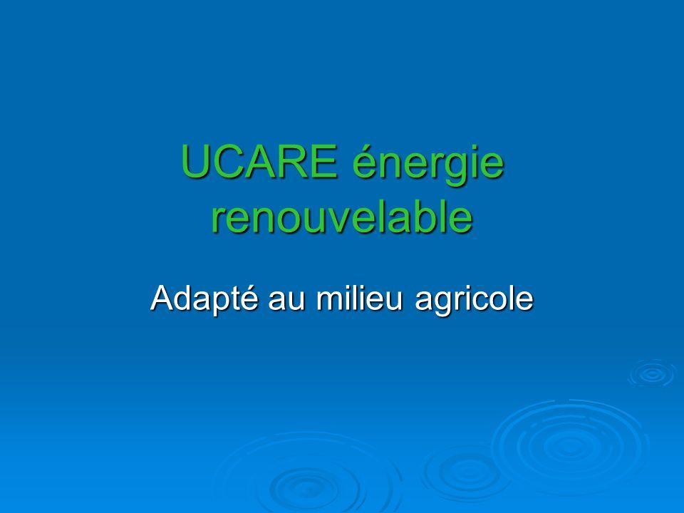 UCARE énergie renouvelable