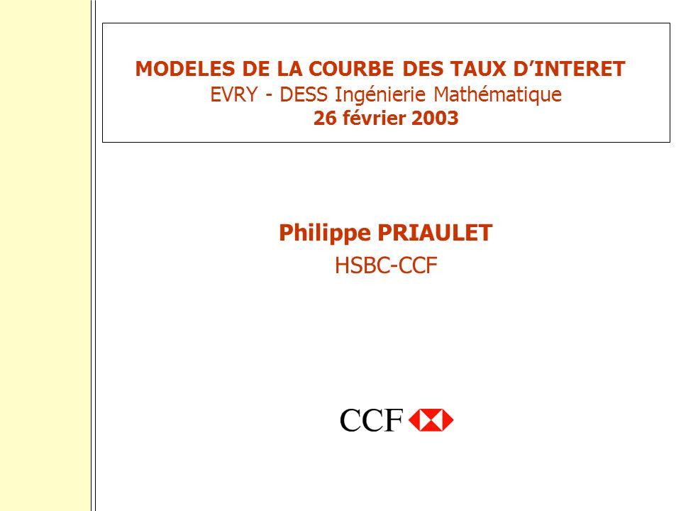 Philippe PRIAULET HSBC-CCF