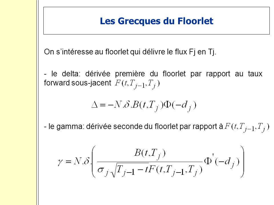 Les Grecques du Floorlet