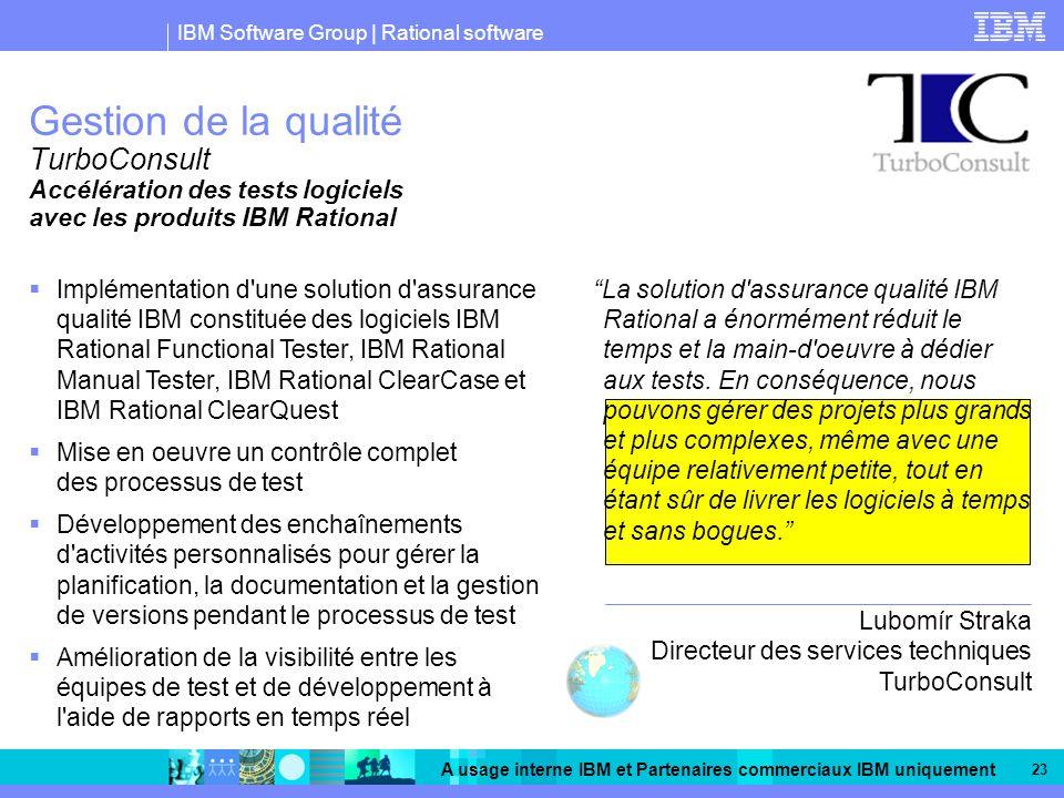 Gestion de la qualité TurboConsult