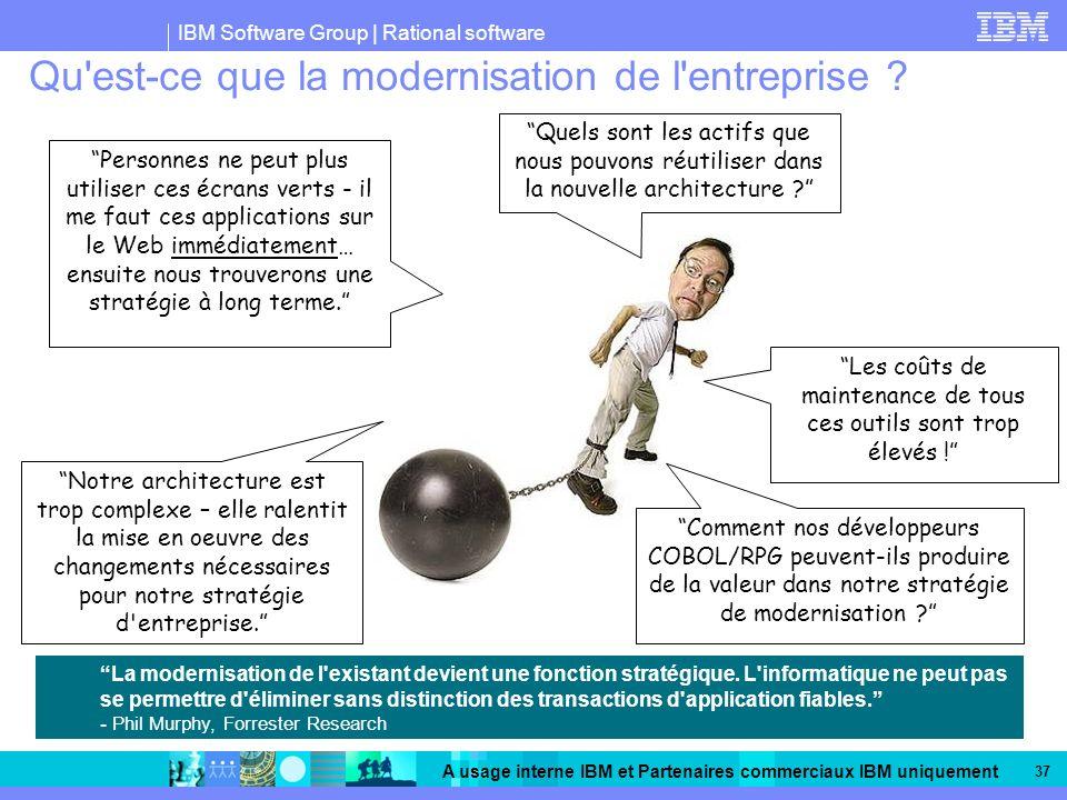 Qu est-ce que la modernisation de l entreprise