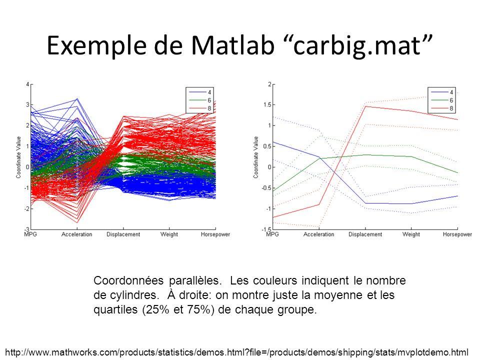 Exemple de Matlab carbig.mat