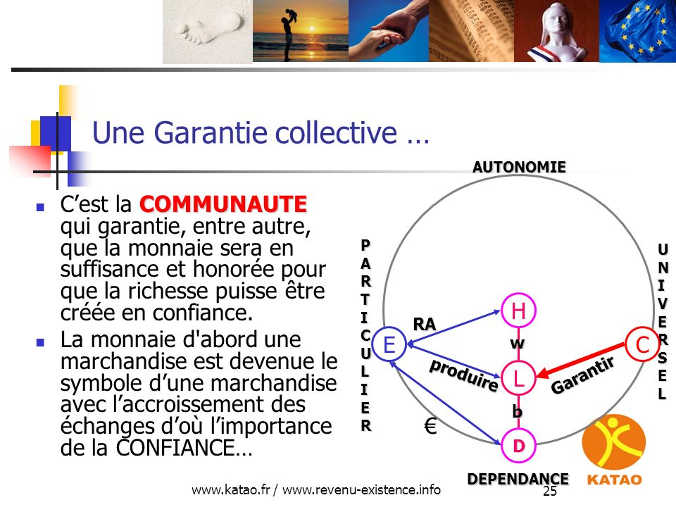 Une Garantie collective …