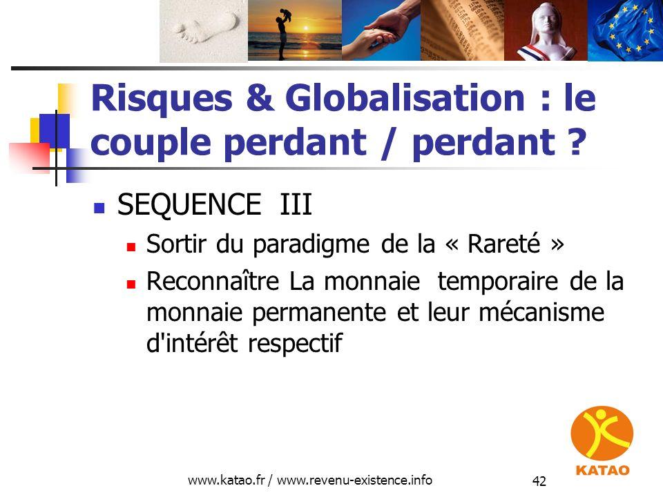 Risques & Globalisation : le couple perdant / perdant