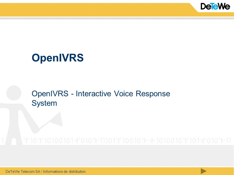 OpenIVRS - Interactive Voice Response System