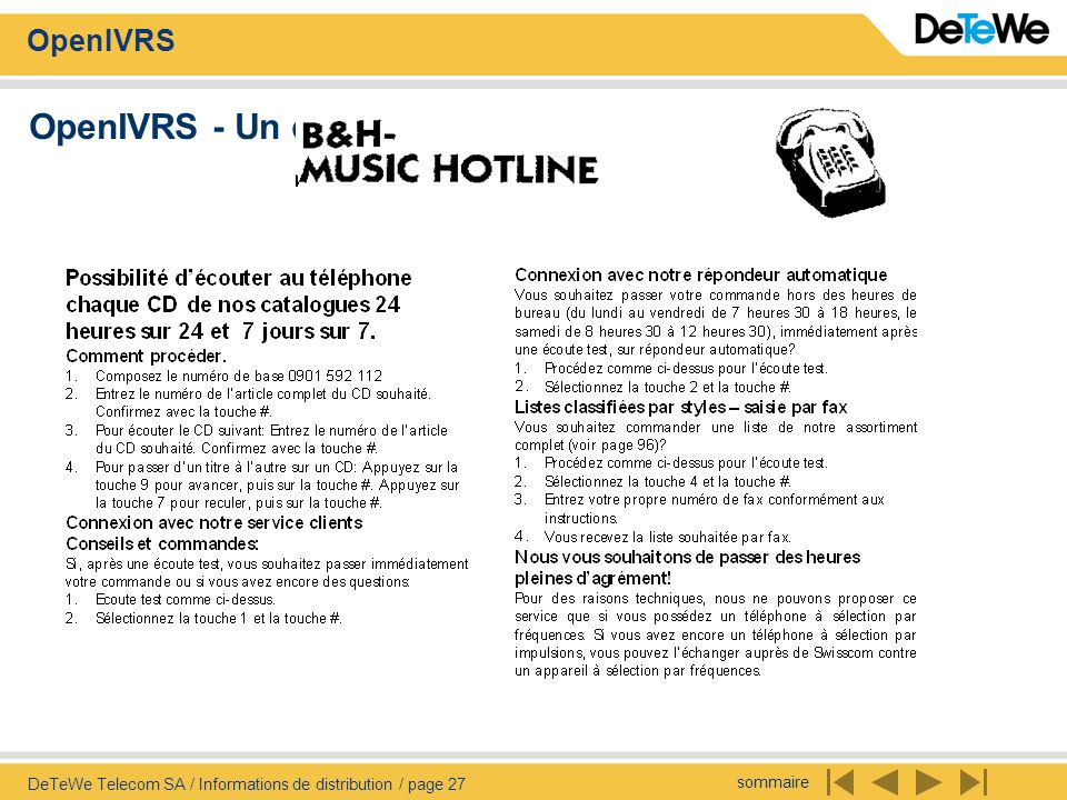 OpenIVRS - Un client exemplaire