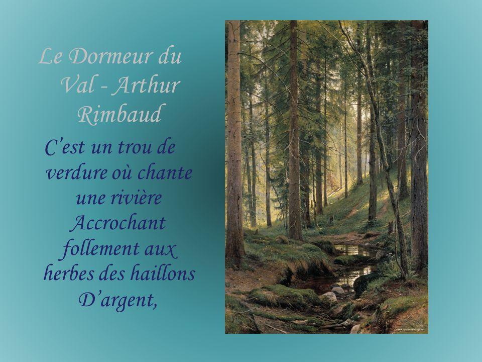 Le Dormeur du Val - Arthur Rimbaud
