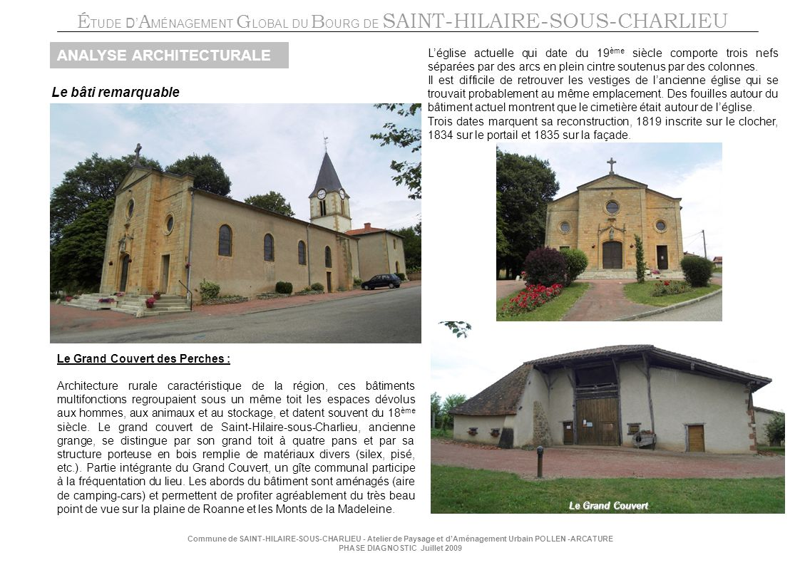 ANALYSE ARCHITECTURALE