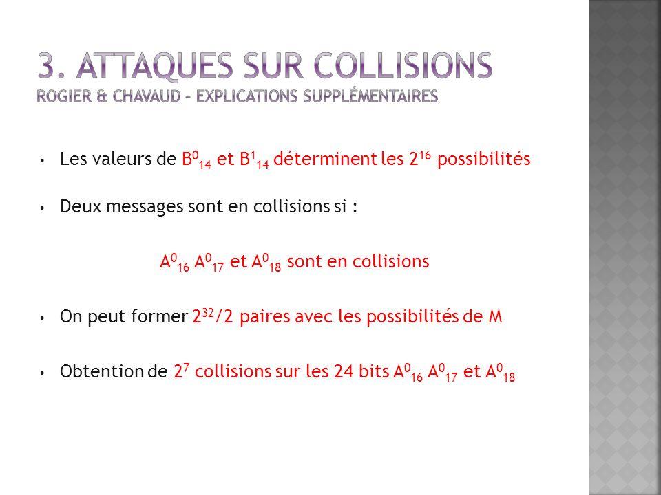 A016 A017 et A018 sont en collisions