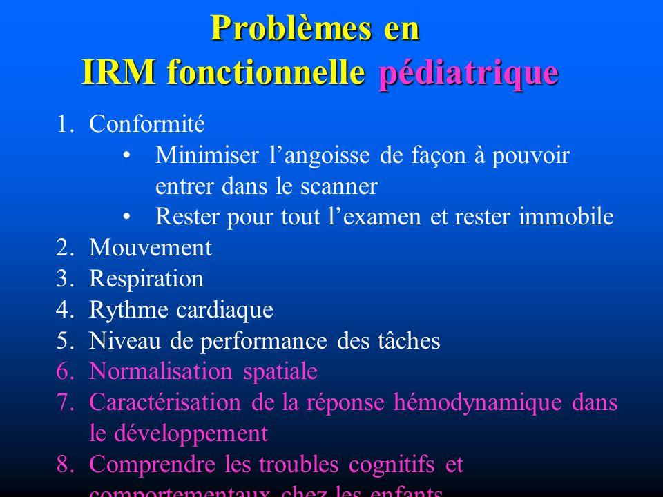 IRM fonctionnelle pédiatrique