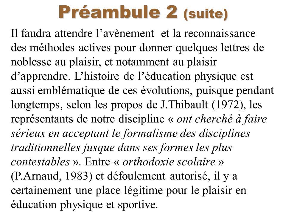 Préambule 2 (suite)