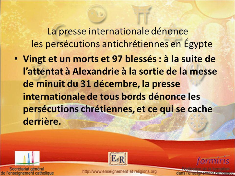 La presse internationale dénonce les persécutions antichrétiennes en Égypte