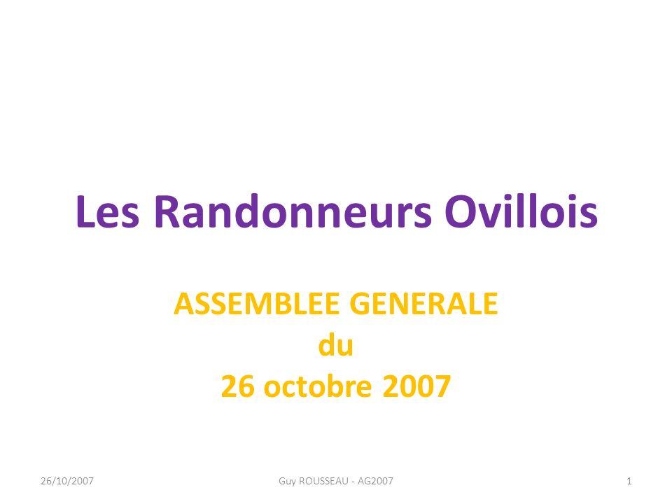 Les Randonneurs Ovillois
