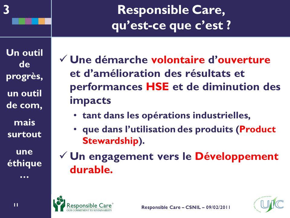Responsible Care, qu'est-ce que c'est