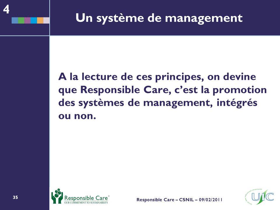 Un système de management