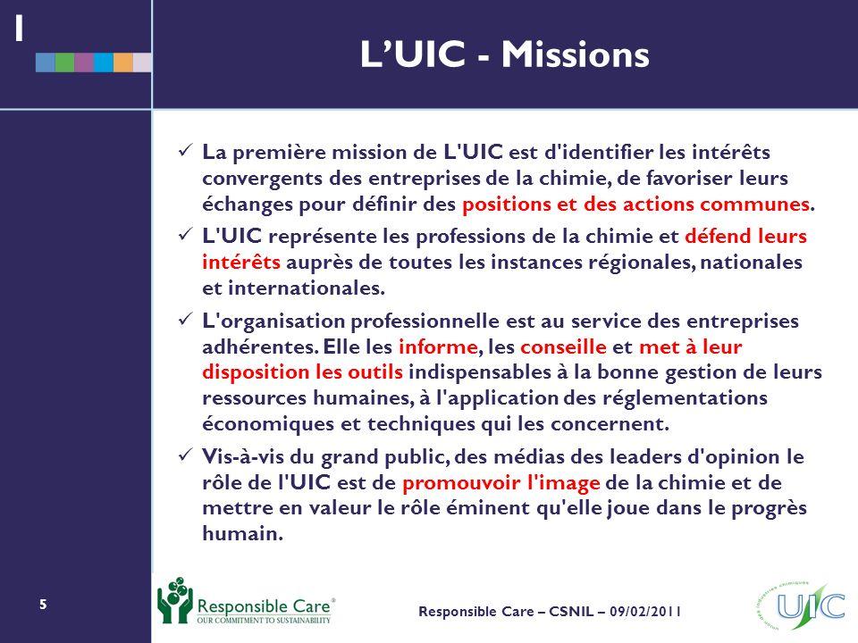 1 L'UIC - Missions.