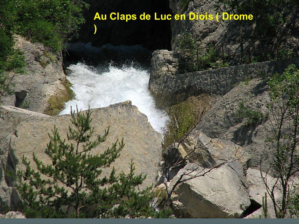 Au Claps de Luc en Diois ( Drome )