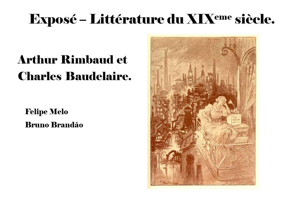 Exposé – Littérature du XIXeme siècle.