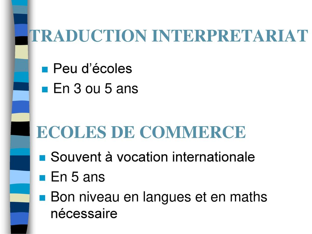 TRADUCTION INTERPRETARIAT