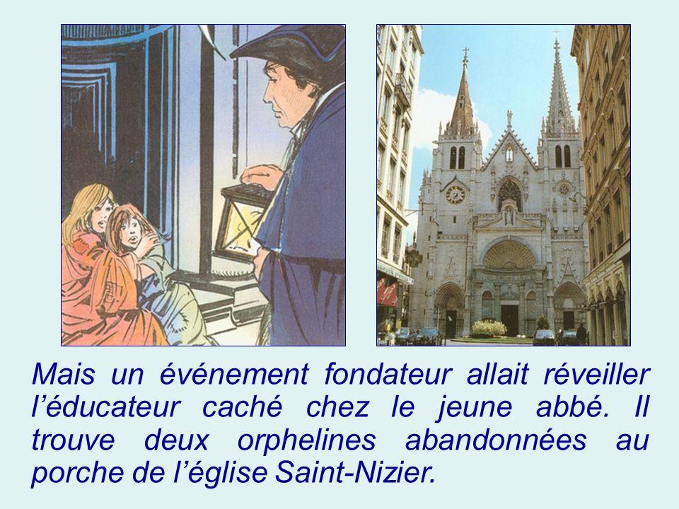 Mais un événement fondateur allait réveiller l'éducateur caché chez le jeune abbé.