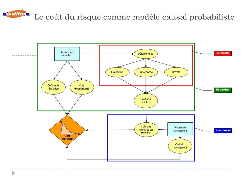 Le coût du risque comme modèle causal probabiliste