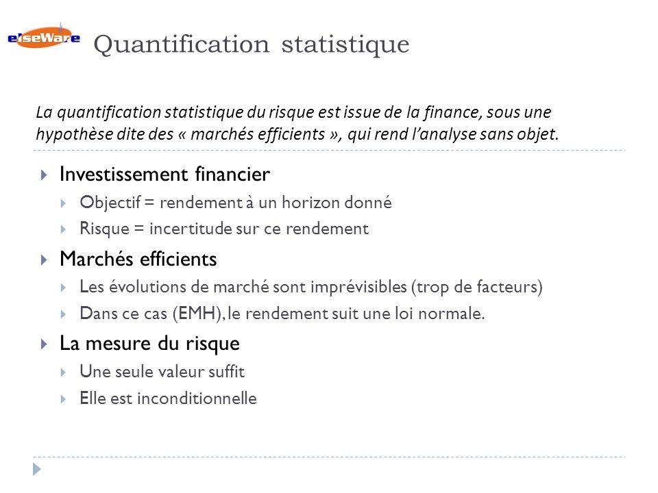 Quantification statistique