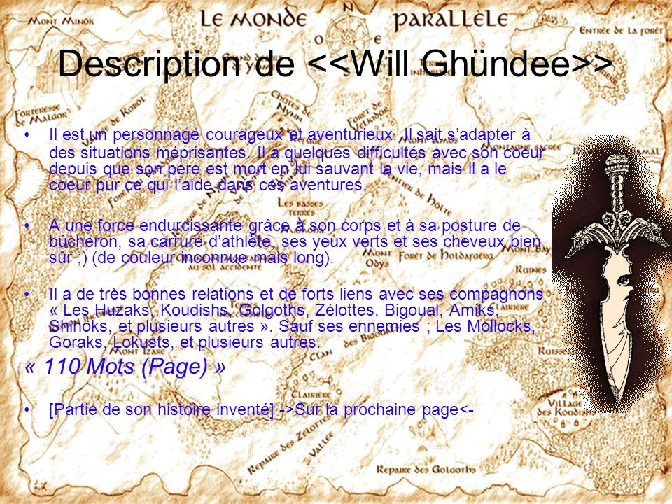 Description de <<Will Ghündee>>