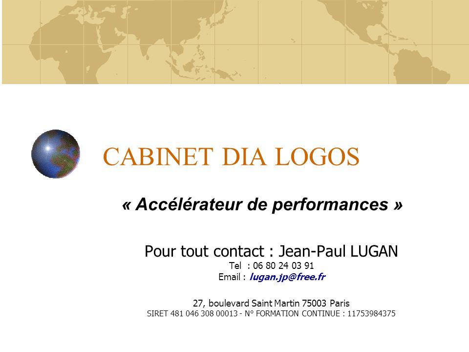 CABINET DIA LOGOS « Accélérateur de performances »