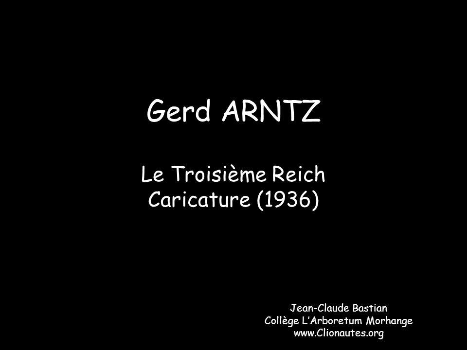 Le Troisième Reich Caricature (1936)
