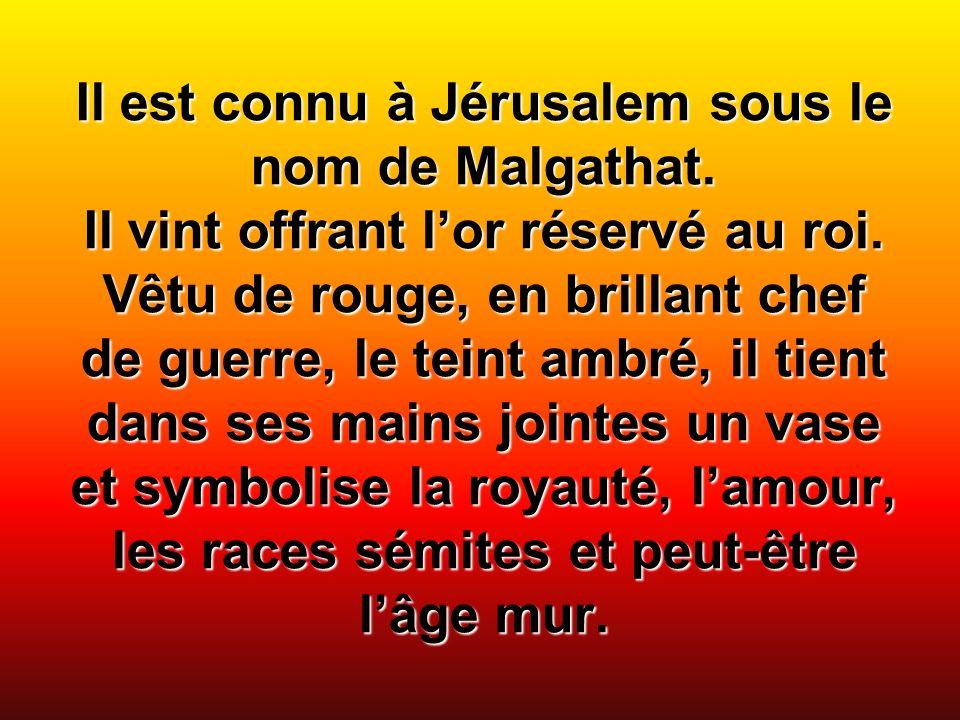 Il est connu à Jérusalem sous le nom de Malgathat