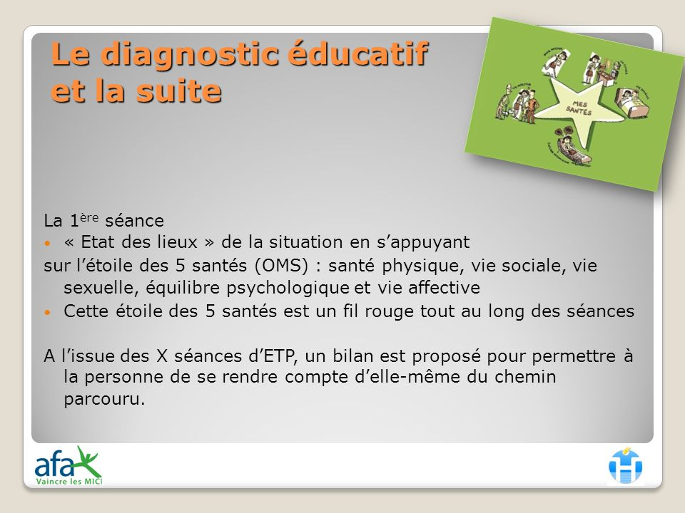 Le diagnostic éducatif et la suite