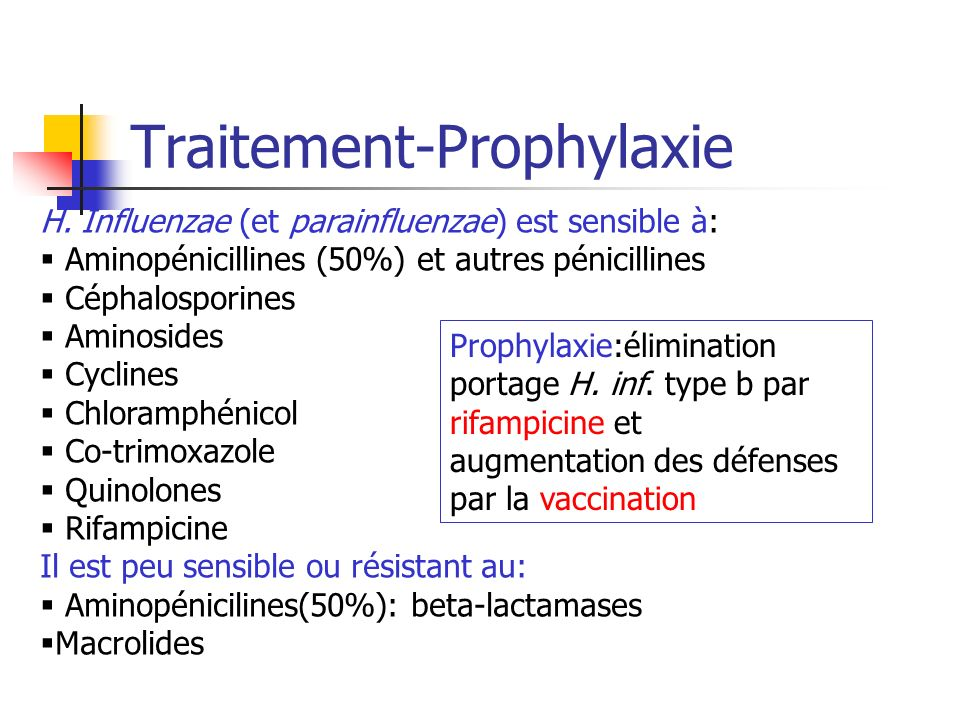 Traitement-Prophylaxie