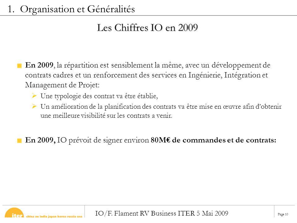 1. Organisation et Généralités
