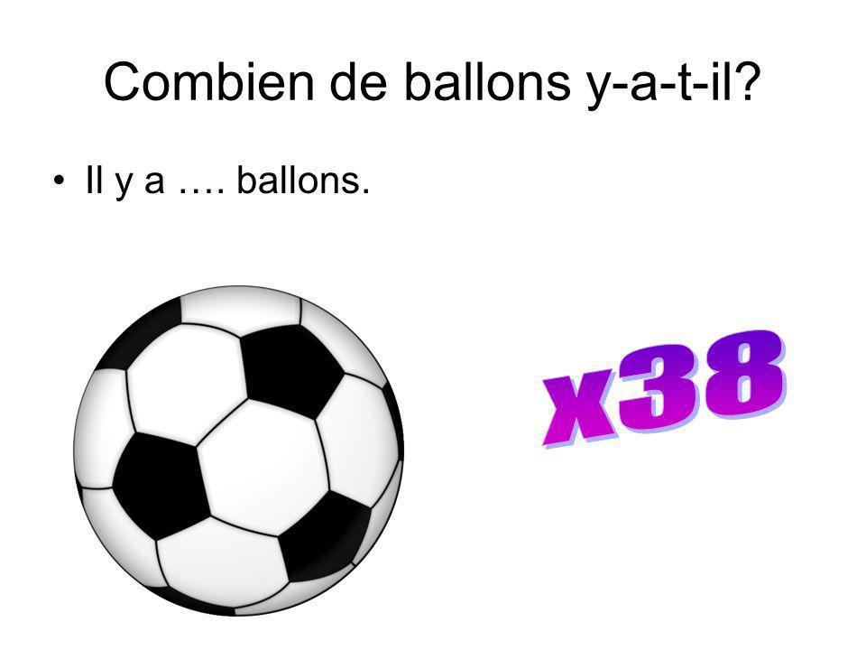 Combien de ballons y-a-t-il