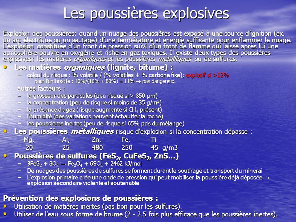 Les poussières explosives