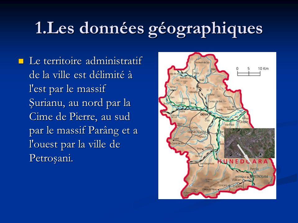 1.Les données géographiques