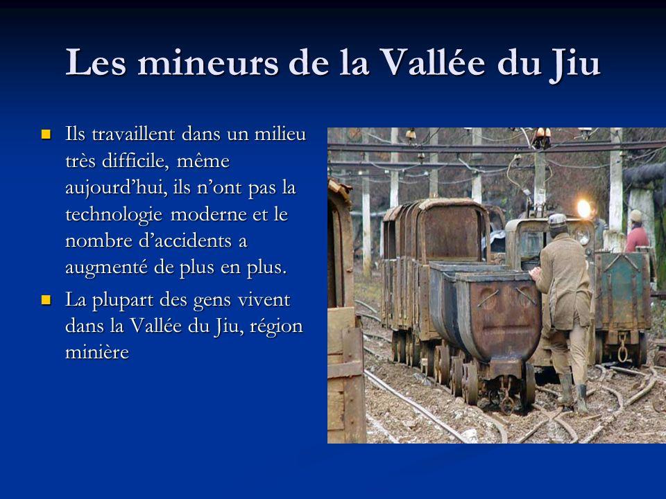 Les mineurs de la Vallée du Jiu