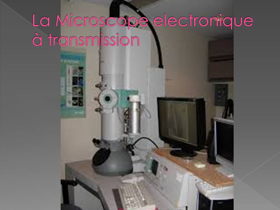 La Microscope electronique à transmission