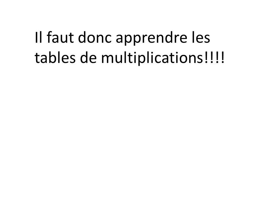 Savoir ce qu est une multiplication ppt t l charger - Apprendre c est table de multiplication ...
