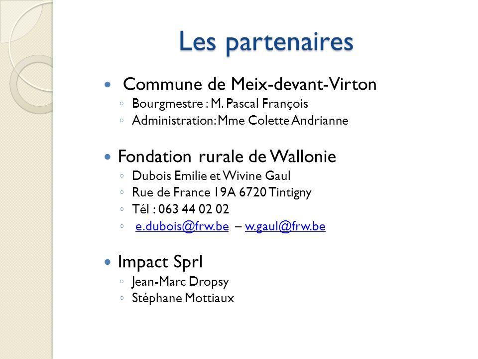 Les partenaires Commune de Meix-devant-Virton