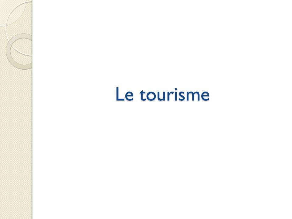 Le tourisme Evolution variable En 10 ans : peu d'évolution ( +38 hab)