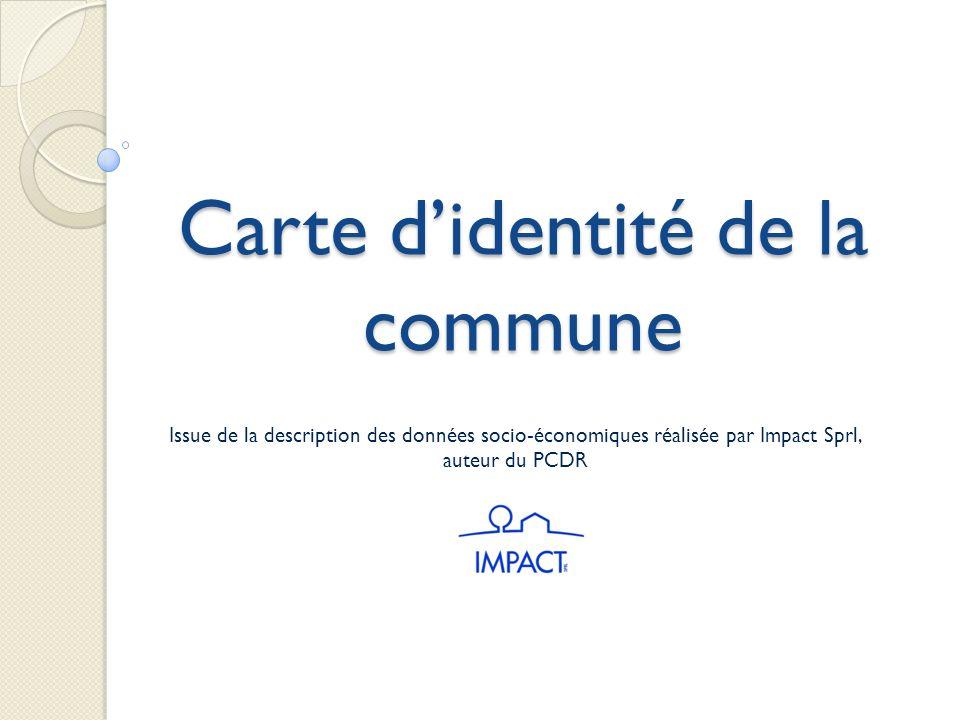Carte d'identité de la commune