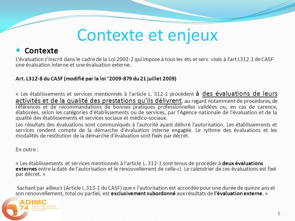 Contexte et enjeux Contexte