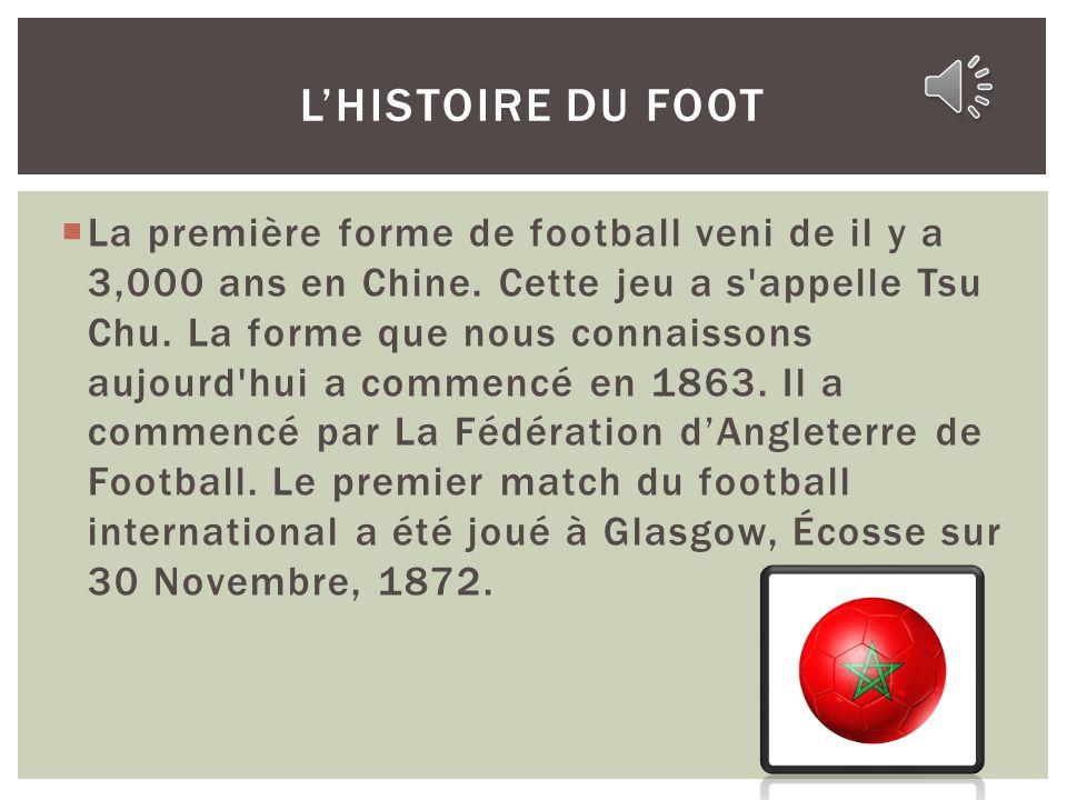 L'Histoire du Foot