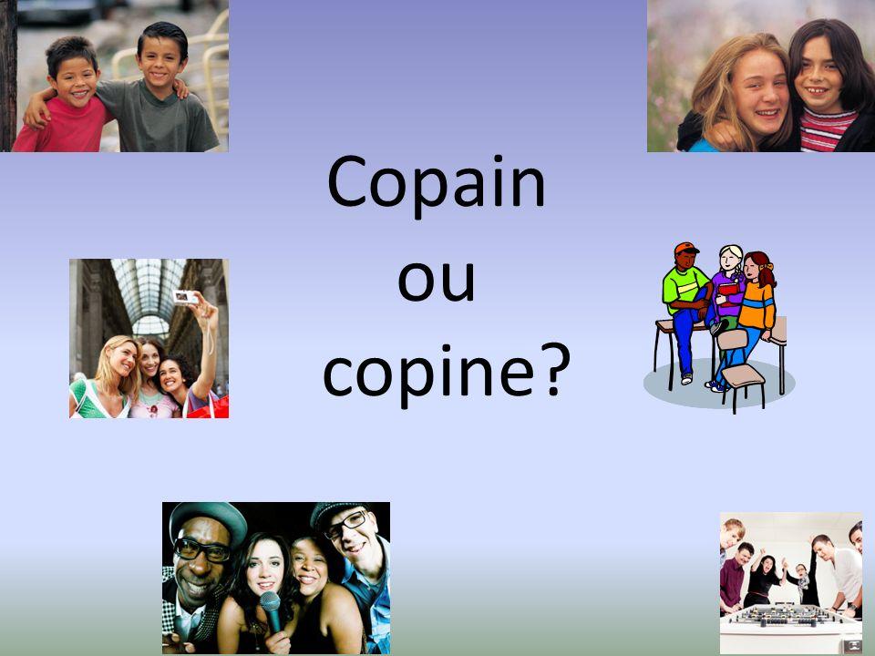 Copain ou copine