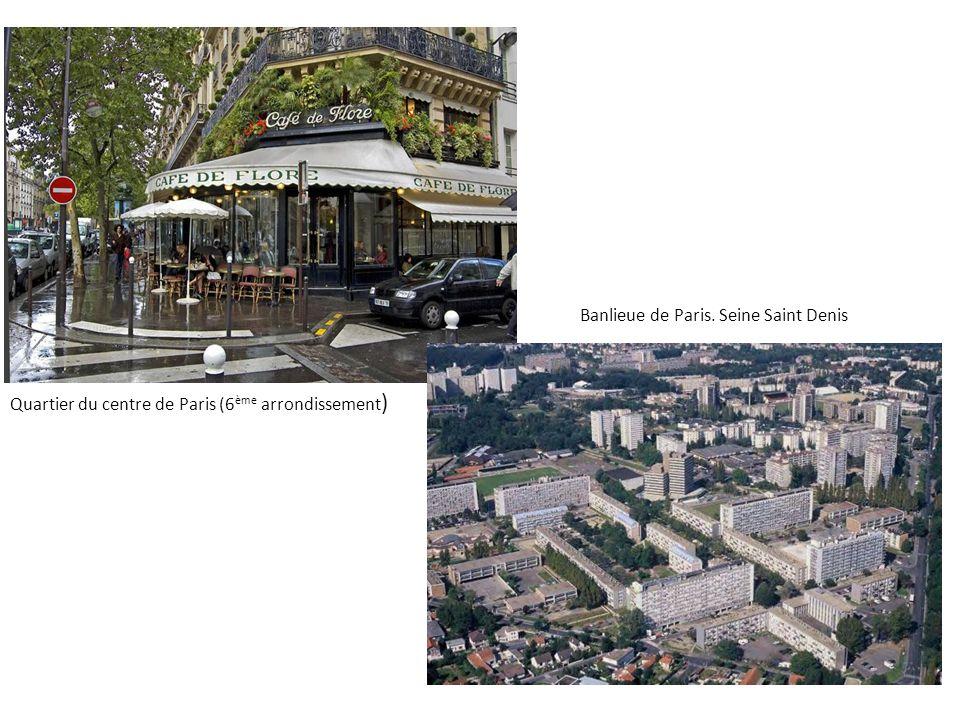 Banlieue de Paris. Seine Saint Denis
