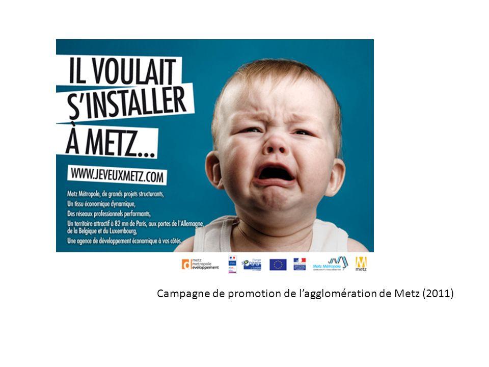 Campagne de promotion de l'agglomération de Metz (2011)