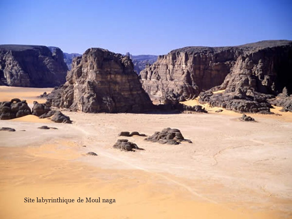 Site labyrinthique de Moul naga